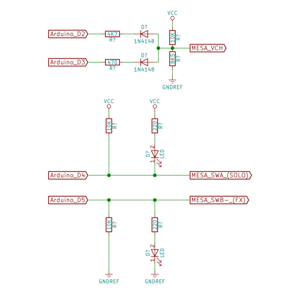 Build A Mesa Boogie Bigfoot Emulator Pasquale Sid Fiorillo Many Parts Of Dual Rectifier Solo Head Schematic Diagram Now We Can Simple Interface To Emulate The Pedal Board